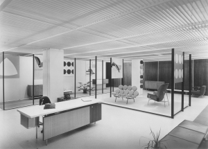 Herman Miller showroom, 1956